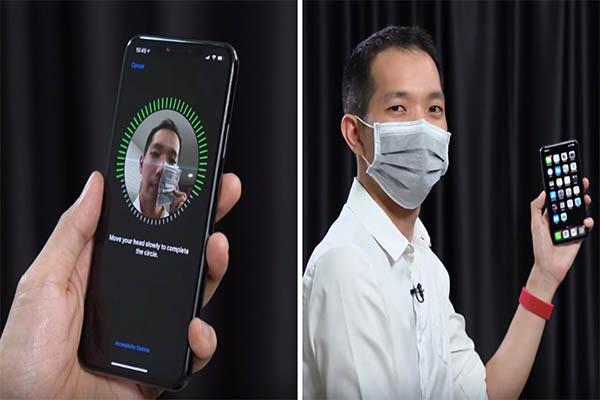 ผู้ใช้ IPHONE ถูกใจ Face ID ปลดล็อคได้แม้สวมหน้ากาก gadgetมาใหม่ อัพเดทโลกไซเบอร์ FaceID IPHONE