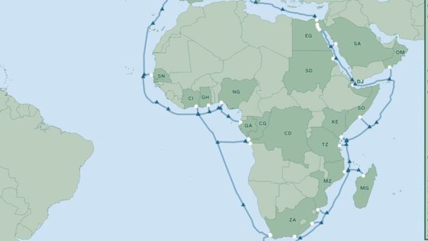 พี่มาร์คใจดี ต่อสายเคเบิลใต้ทะเลที่ยาวรอบโลกให้แอฟริกา เพื่อให้พวกเขาสามารถใช้งาน Facebook ได้ gadgetมาใหม่ อัพเดทโลกไซเบอร์ Facebook
