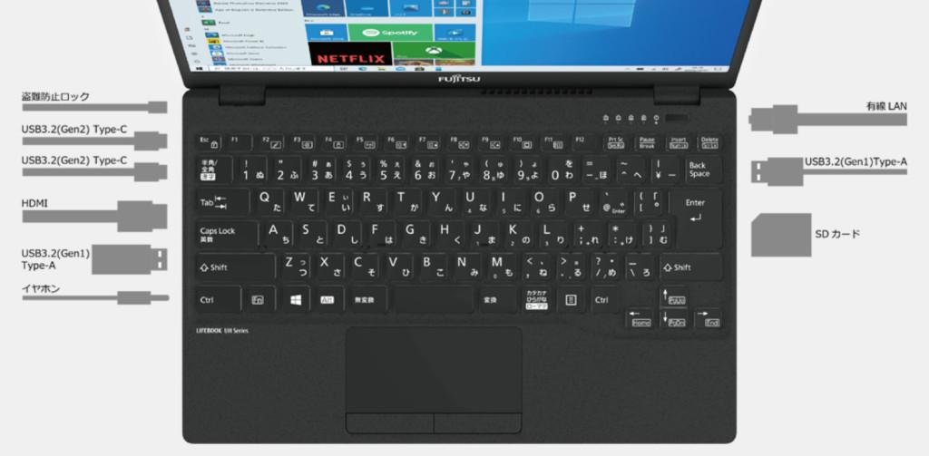 Fujitsu Lifebook UH Series / E3 โน๊คบุ๊คน้ำหนักเบา แต่สเปคไม่เบา gadgetมาใหม่ อัพเดทโลกไซเบอร์ FujitsuLifebookUHSeries