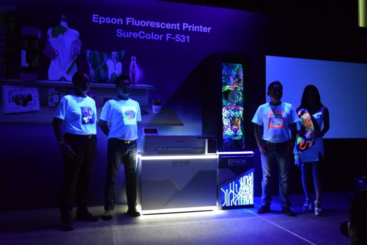 EPSON เปิดตัว SureColor SC-F530 และ SC-F531 เครื่องพิมพ์ผ้าที่มาพร้อมกับหมึกเรืองแสง gadgetมาใหม่ อัพเดทโลกไซเบอร์ EPSON SureColor
