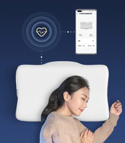 เปิดตัว Smart Latex Pillow ผลิตจากยางพาราไทย จาก Huawei gadgetมาใหม่ อัพเดทโลกไซเบอร์ Huawei SmartLatexPillow