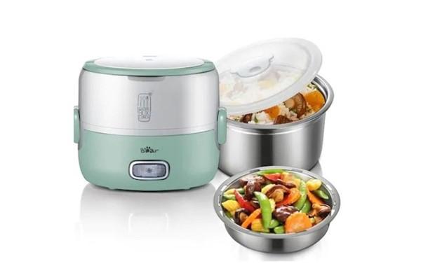 กล่องข้าวไฟฟ้ารุ่น BEAR BR0015 ตัวช่วยที่ทำให้อาหารสดใหม่อยู่เสมอ gadgetมาใหม่ อัพเดทโลกไซเบอร์ กล่องข้าวไฟฟ้า BEARBR0015