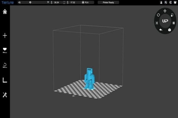 X3D UP BOX+ 3D Printer เครื่องพิมพ์ 3 มิติคุณภาพสูงที่เหมาะสำหรับการใช้งานกับทุกคน gadgetมาใหม่ อัพเดทโลกไซเบอร์ X3DUPBOX+ 3DPrinter