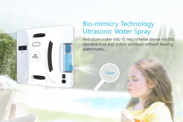หุ่นยนต์เช็ดกระจกรุ่น HOBOT-298 ช่วยทำความสะอาดบ้านที่แม่บ้านควรเลือกใช้ gadgetมาใหม่ อัพเดทโลกไซเบอร์ หุ่นยนต์เช็ดกระจก HOBOT298