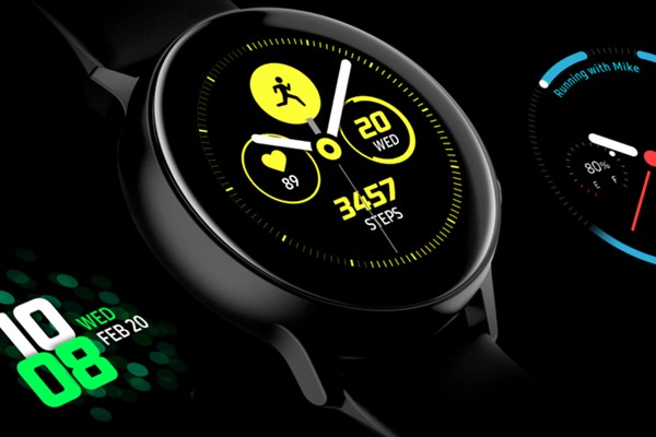 Samsung Galaxy Watch Active นาฬิกาแบรนด์ Samsung สำหรับสายสุขภาพ gadgetมาใหม่ อัพเดทโลกไซเบอร์ Samsung SamsungGalaxyWatchActive