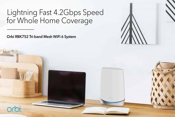 Netgear Orbi Ac3000 อุปกรณ์ที่จะช่วยให้อินเตอร์เน็ตบ้านมีความเร็วเท่ากับโปรที่ซื้อมา gadgetมาใหม่ อัพเดทโลกไซเบอร์ NetgearOrbiAc3000